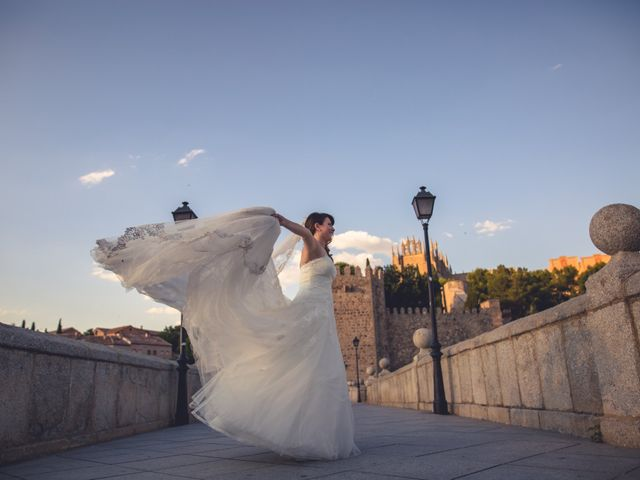 La boda de Moises y Irene en Toledo, Toledo 50