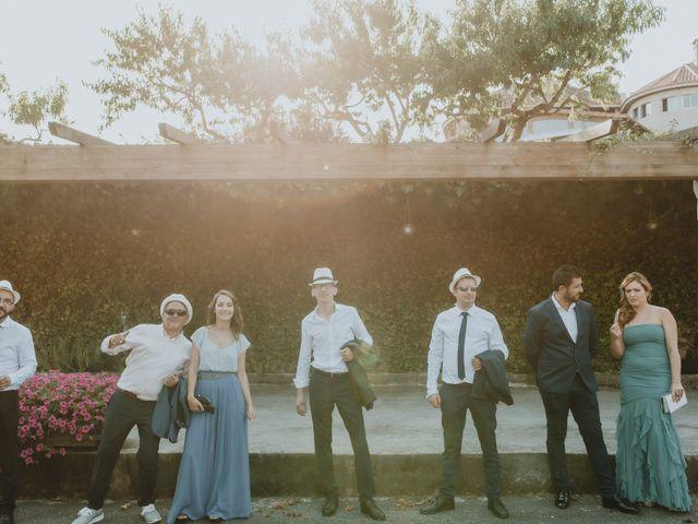 La boda de Santiago y Tamara en Vilarnaz, Orense 40