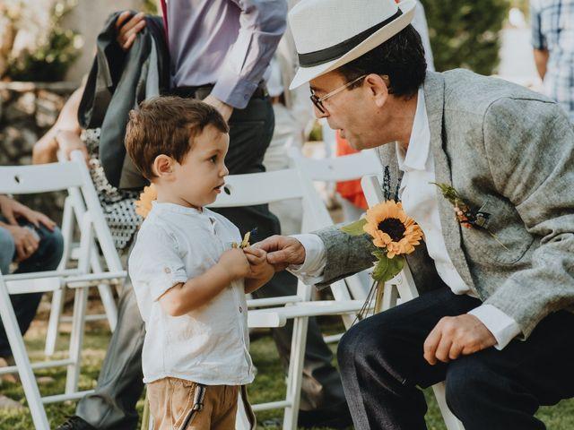 La boda de Santiago y Tamara en Vilarnaz, Orense 41