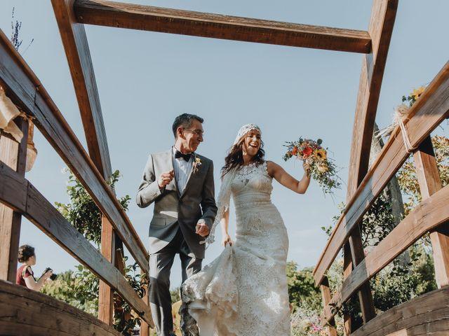 La boda de Santiago y Tamara en Vilarnaz, Orense 46