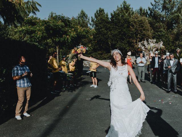 La boda de Santiago y Tamara en Vilarnaz, Orense 58