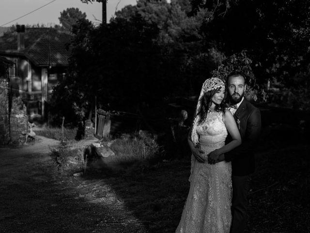 La boda de Santiago y Tamara en Vilarnaz, Orense 62