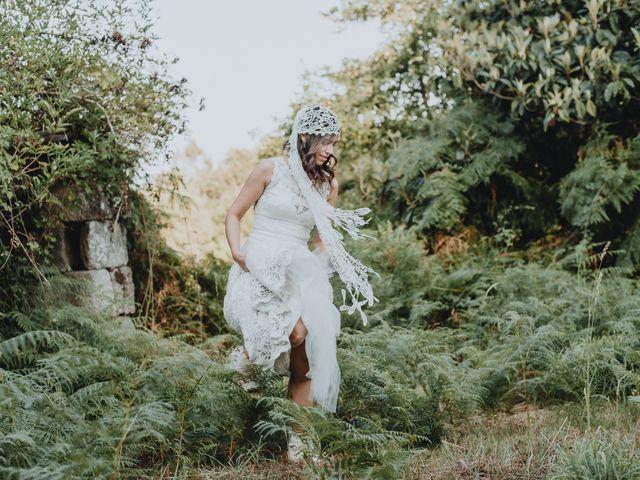 La boda de Santiago y Tamara en Vilarnaz, Orense 64
