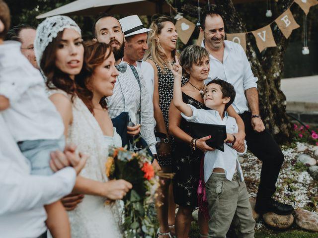 La boda de Santiago y Tamara en Vilarnaz, Orense 77