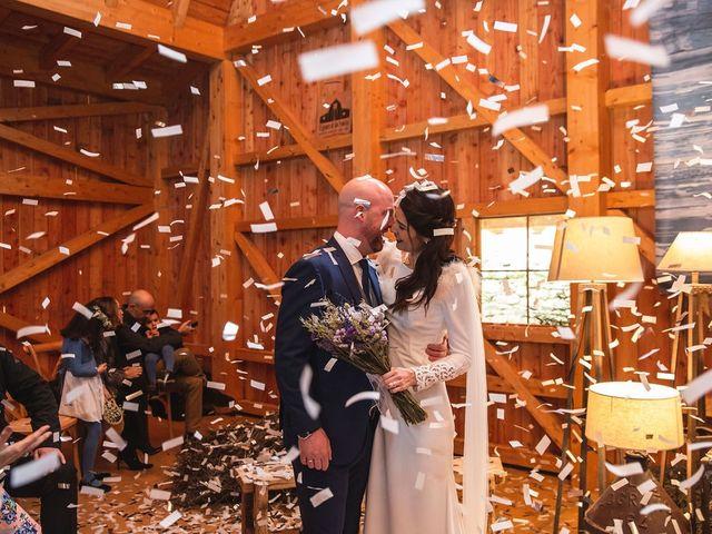 La boda de Zuriñe y Iosu