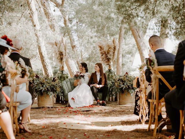 La boda de Bego y Iris en Valencia, Valencia 46