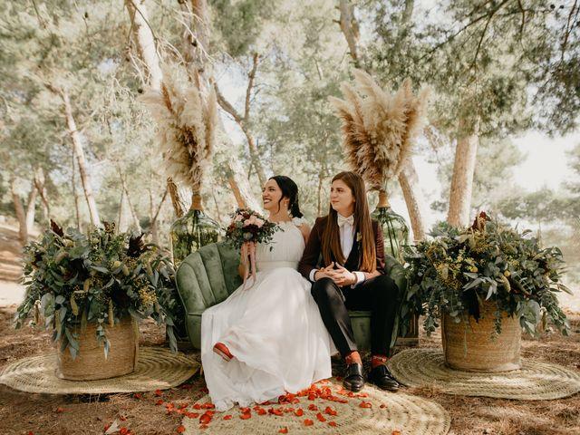 La boda de Bego y Iris en Valencia, Valencia 63