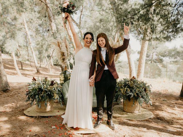 La boda de Bego y Iris en Valencia, Valencia 89
