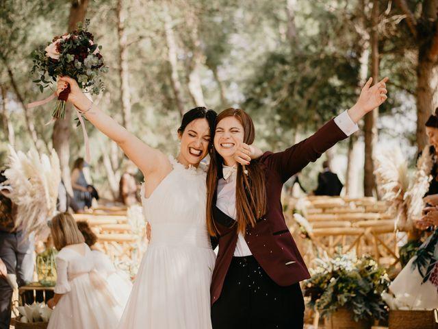 La boda de Bego y Iris en Valencia, Valencia 93