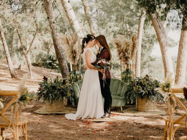 La boda de Bego y Iris en Valencia, Valencia 94