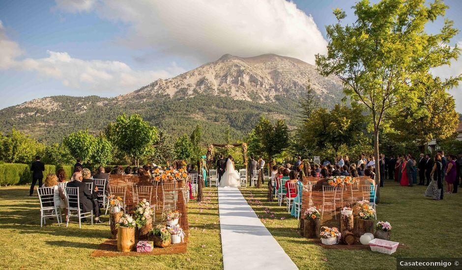 La boda de pepe y soraya en puebla don fadrique granada for Jardines de soraya