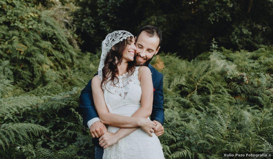 La boda de Santiago y Tamara en Vilarnaz, Orense