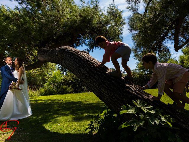 La boda de Eva  y Borja  en Rivas-vaciamadrid, Madrid 16