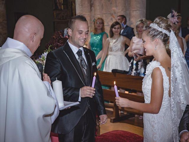 La boda de Alberto y Demelsa en Paredes De Nava, Palencia 16