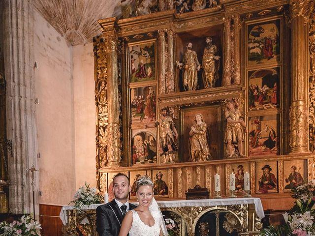 La boda de Alberto y Demelsa en Paredes De Nava, Palencia 22