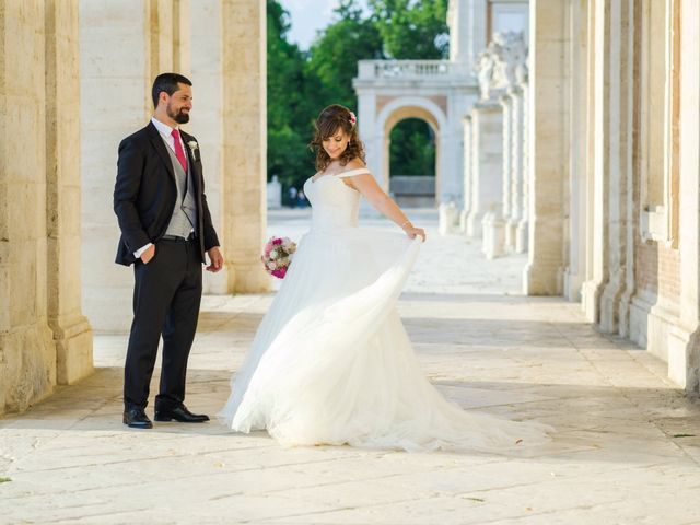La boda de Dani y Sara en Aranjuez, Madrid 89