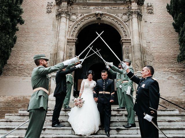 La boda de Alberto y Ana en Granada, Granada 50