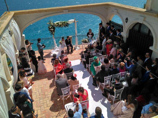 La boda de SAUL y FATIMA en Pueblo Acantilado, Alicante 7
