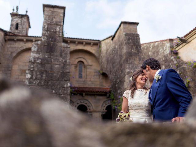 La boda de Albert y Isabel en Santiago De Compostela, A Coruña 1