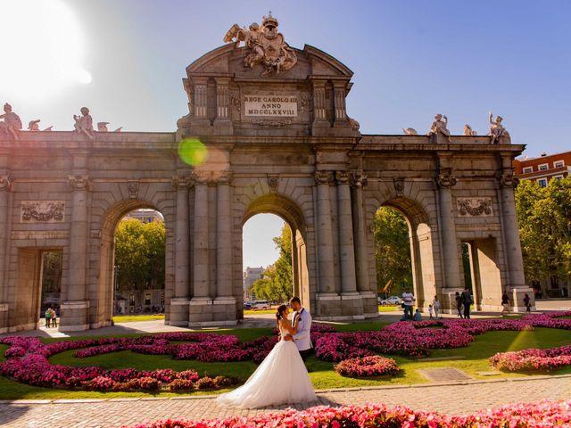 La boda de Sergio y Pilar  en Villanueva De La Serena, Badajoz 17