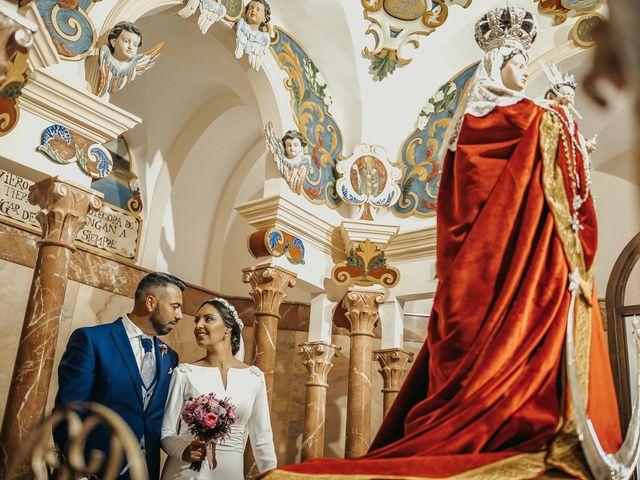 La boda de Andrés y Pepita en Conil De La Frontera, Cádiz 34