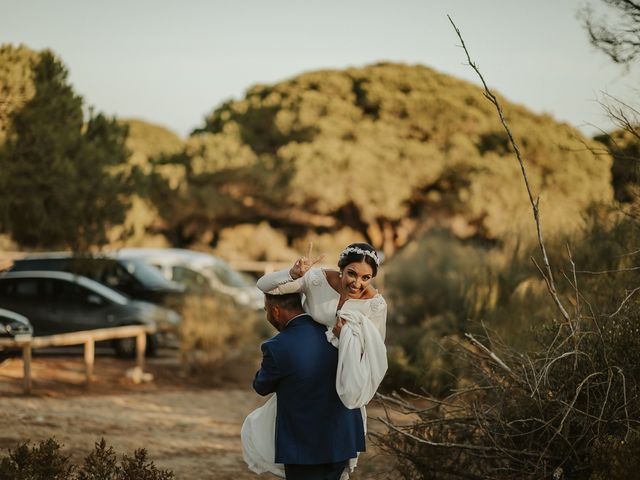 La boda de Andrés y Pepita en Conil De La Frontera, Cádiz 48