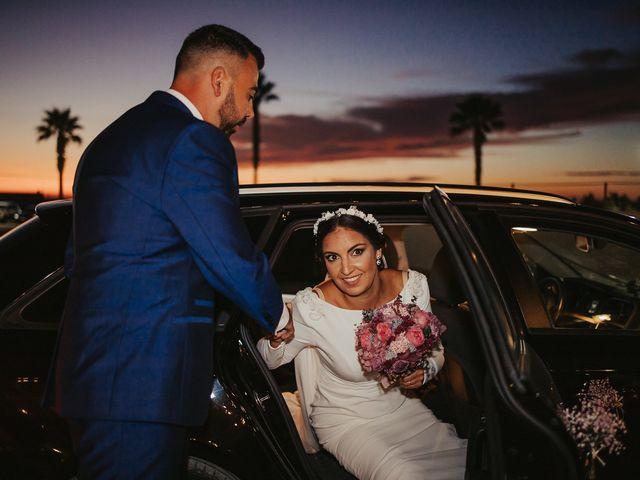 La boda de Andrés y Pepita en Conil De La Frontera, Cádiz 56