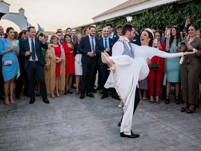 La boda de Pablo y María en Espartinas, Sevilla 90