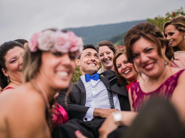 La boda de Miguel y Natalia en Quejana, Álava 12