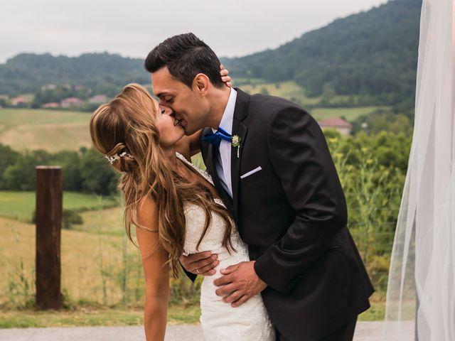 La boda de Miguel y Natalia en Quejana, Álava 15
