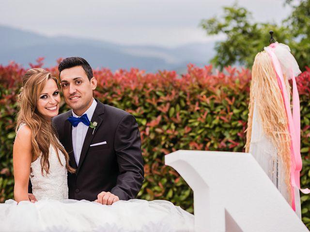 La boda de Miguel y Natalia en Quejana, Álava 19