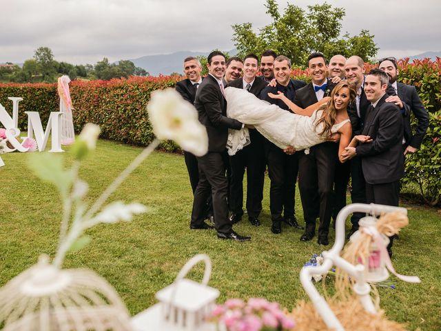 La boda de Miguel y Natalia en Quejana, Álava 23