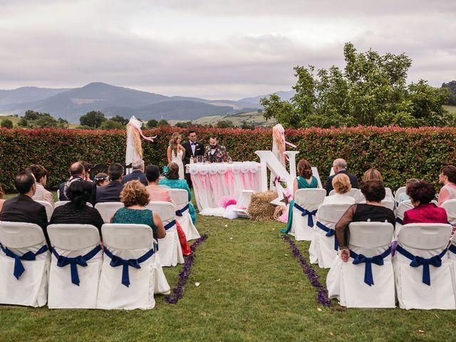 La boda de Miguel y Natalia en Quejana, Álava 34