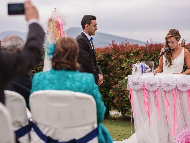 La boda de Miguel y Natalia en Quejana, Álava 38