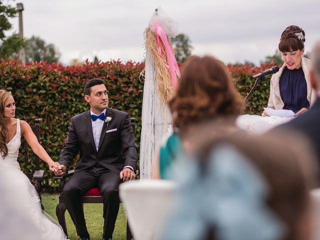 La boda de Miguel y Natalia en Quejana, Álava 41