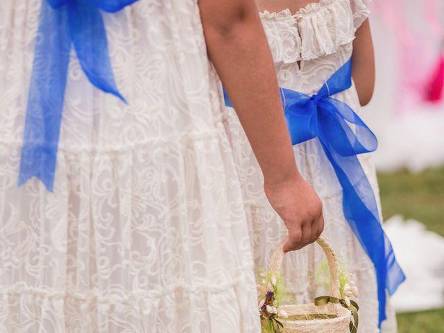 La boda de Miguel y Natalia en Quejana, Álava 44