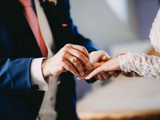La boda de César  y Patricia  en Velilla De San Antonio, Madrid 1