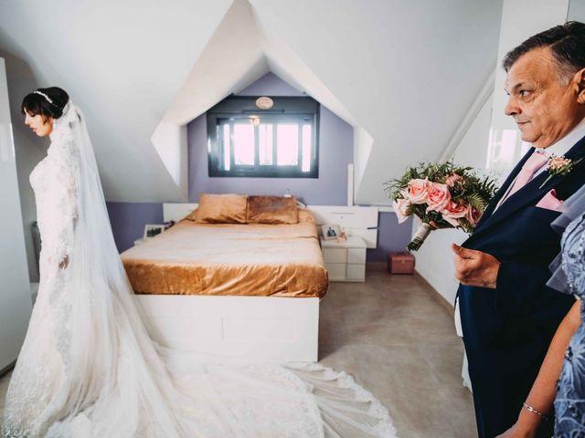 La boda de César  y Patricia  en Velilla De San Antonio, Madrid 2