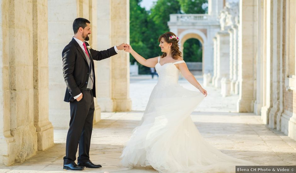 La boda de Dani y Sara en Aranjuez, Madrid