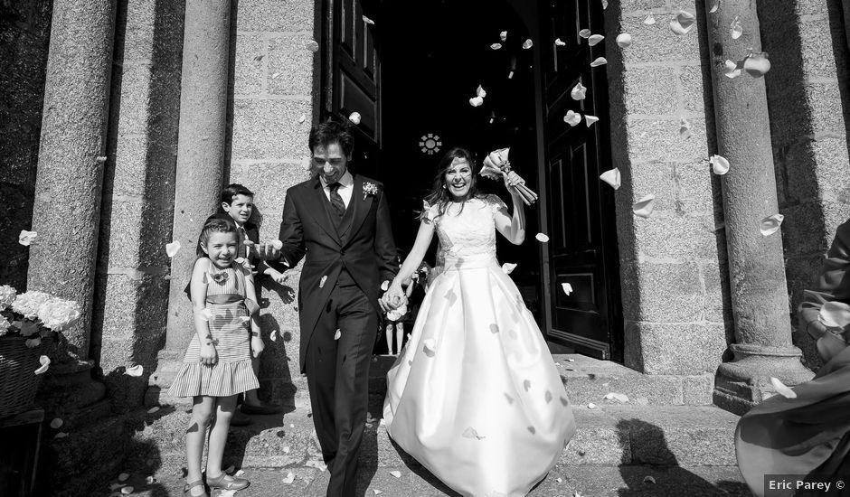 La boda de Albert y Isabel en Santiago De Compostela, A Coruña