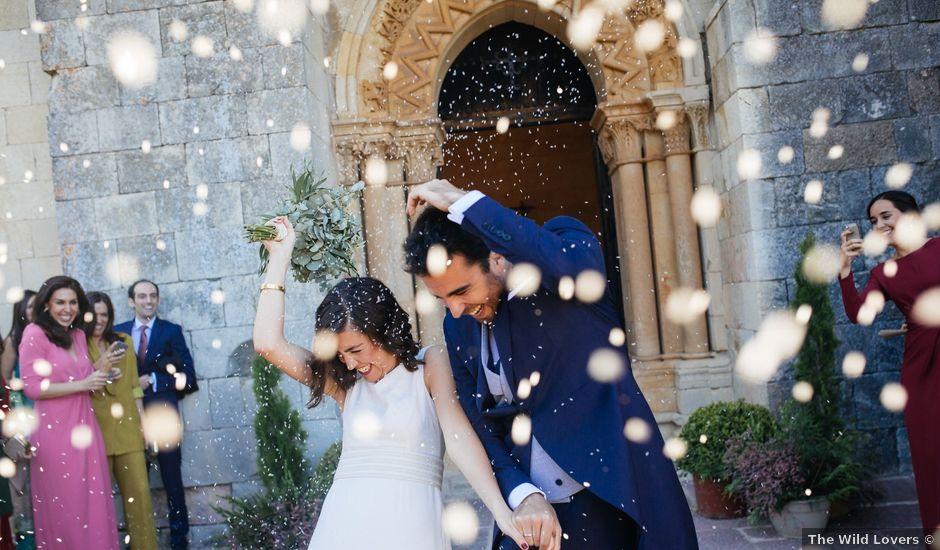 La boda de Gonzalo y Alicia en Olmos De Ojeda, Palencia