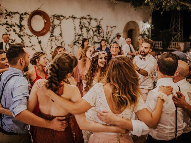 La boda de Adrià y Alba en L' Ametlla Del Valles, Barcelona 75