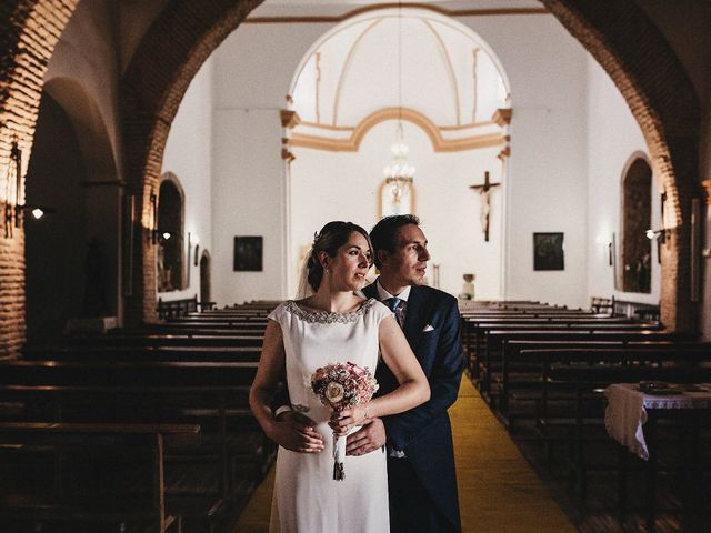 La boda de Edu y Marimar en Ballesteros De Calatrava, Ciudad Real 29