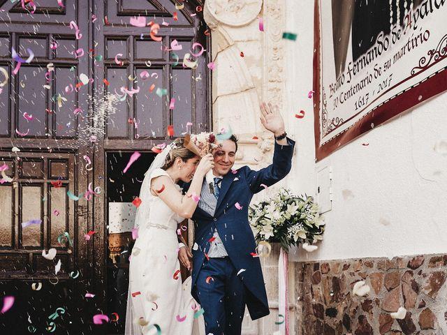 La boda de Edu y Marimar en Ballesteros De Calatrava, Ciudad Real 31