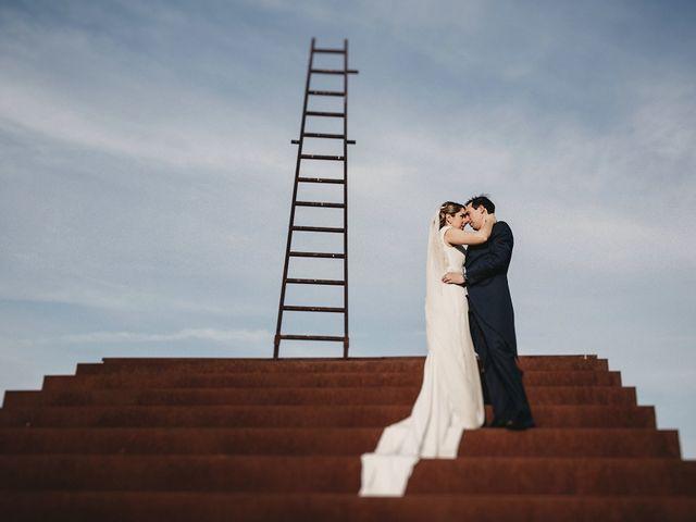 La boda de Edu y Marimar en Ballesteros De Calatrava, Ciudad Real 37