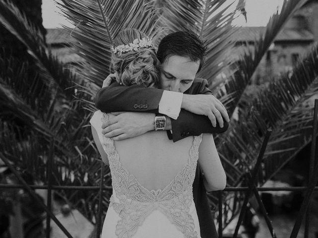 La boda de Edu y Marimar en Ballesteros De Calatrava, Ciudad Real 49