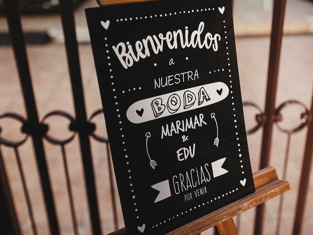 La boda de Edu y Marimar en Ballesteros De Calatrava, Ciudad Real 52
