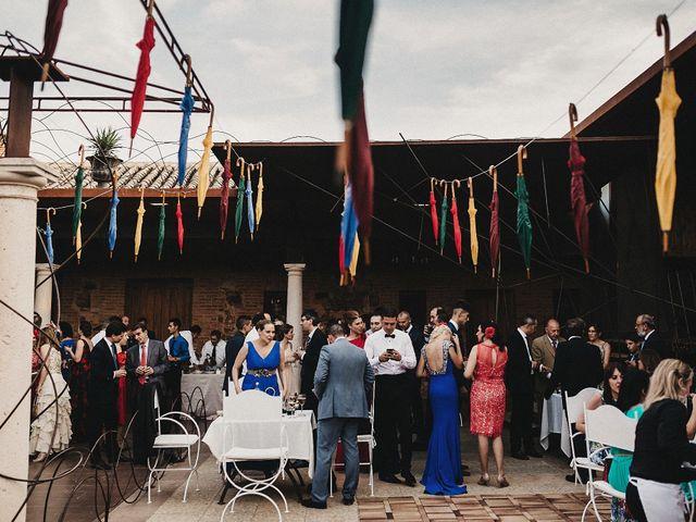 La boda de Edu y Marimar en Ballesteros De Calatrava, Ciudad Real 56