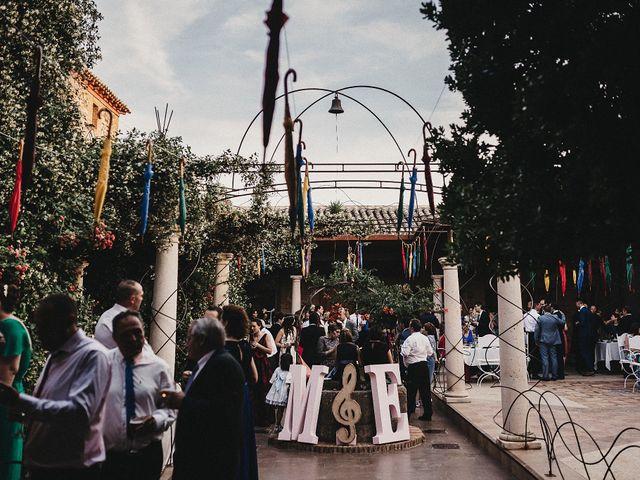 La boda de Edu y Marimar en Ballesteros De Calatrava, Ciudad Real 57