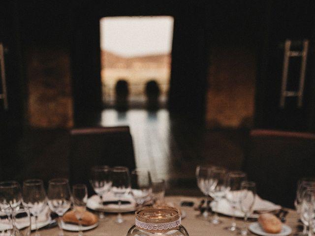 La boda de Edu y Marimar en Ballesteros De Calatrava, Ciudad Real 60